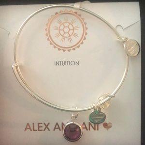 Brand new Alex and Ani Amethyst Bracelet